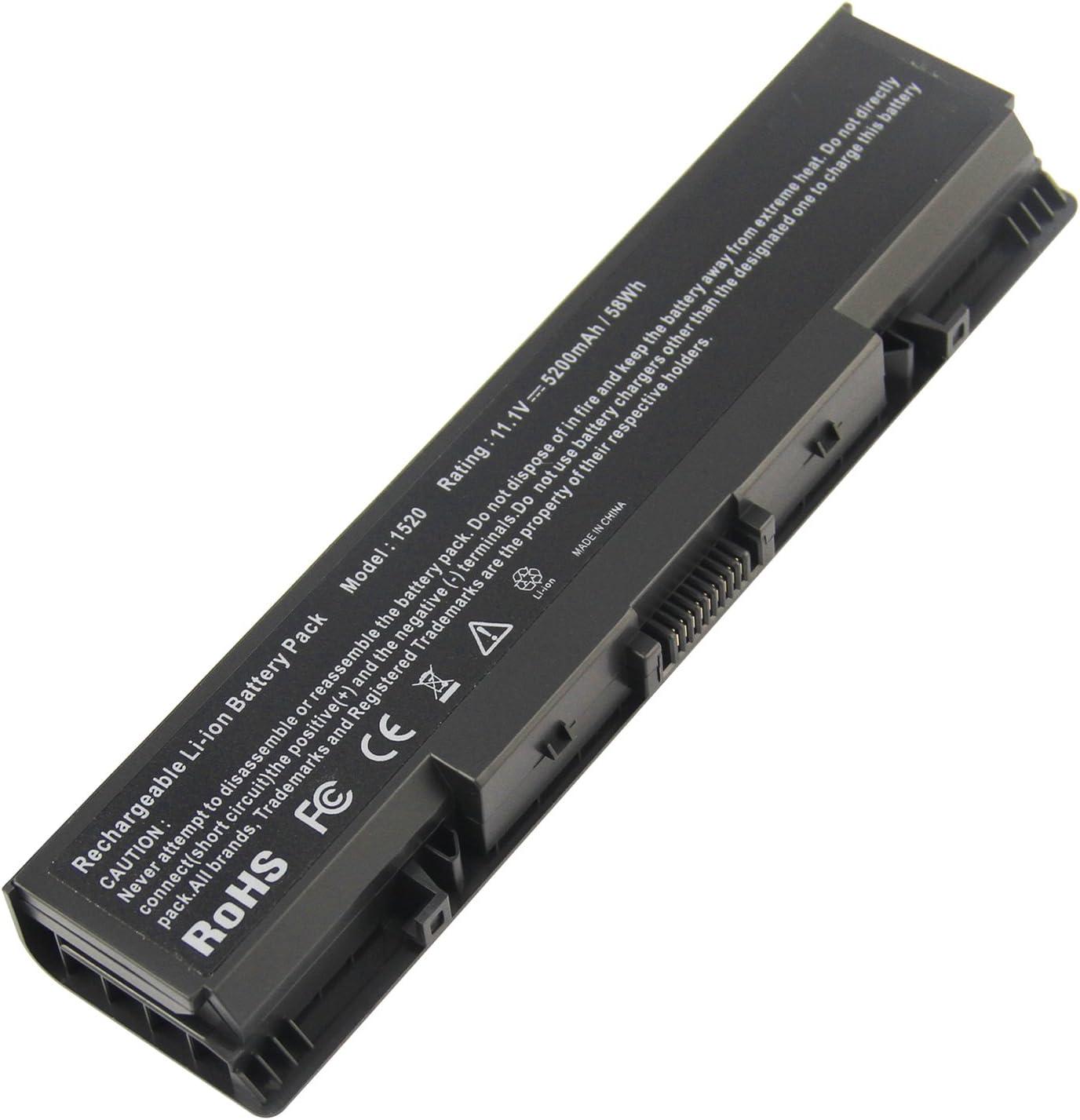 Futurebatt 6-Cell Laptop Battery for Dell Vostro 1500 1700 Inspiron 1520 1521 1720 1721 530s Notebook (Not Fit Vostro 1520 Vostro 1720) GK479 FK890 New