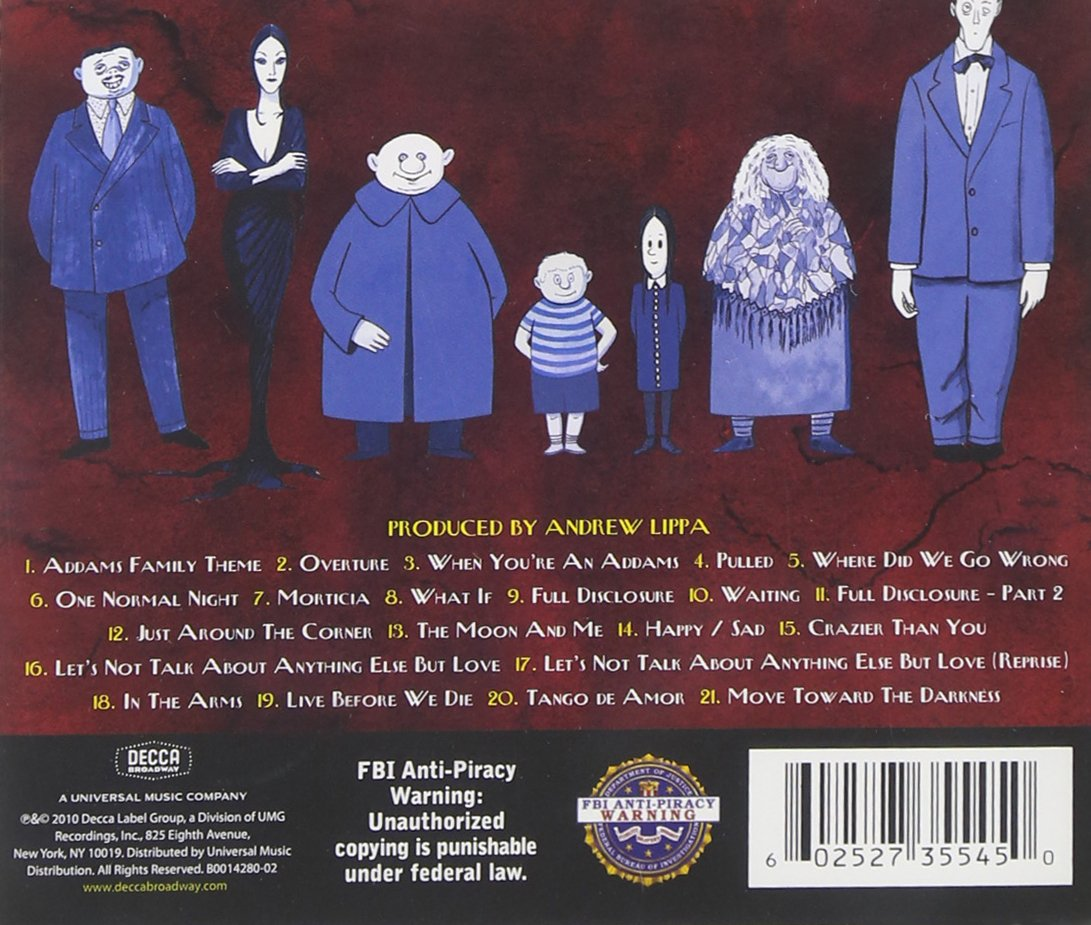The Addams Family by Decca (Image #2)