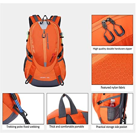 faec4bfe7f1e Amazon.com: JUNBOSI Rucksack Knapsack OuHit Color Outdoor Backpack ...