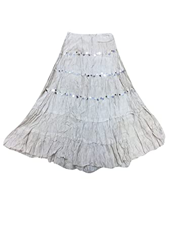 Broomstick Crinkle Skirt