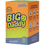 Scrub Daddy Big Daddy - Jumbo FlexTexture Sponge, Customizable, Chemical Free, Deep Cleaning, Dishwasher Safe, Multi-use, Scr