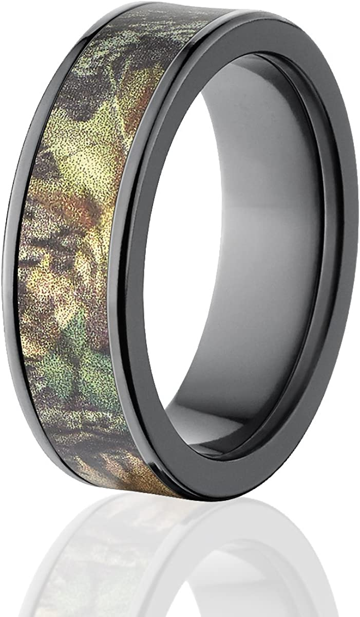 Obsession Camo Bands Mossy Oak Rings Camo Wedding Rings Free Sizing
