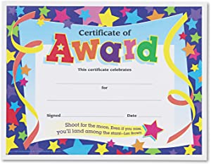 TEPT2951 - Trend Certificates of Award