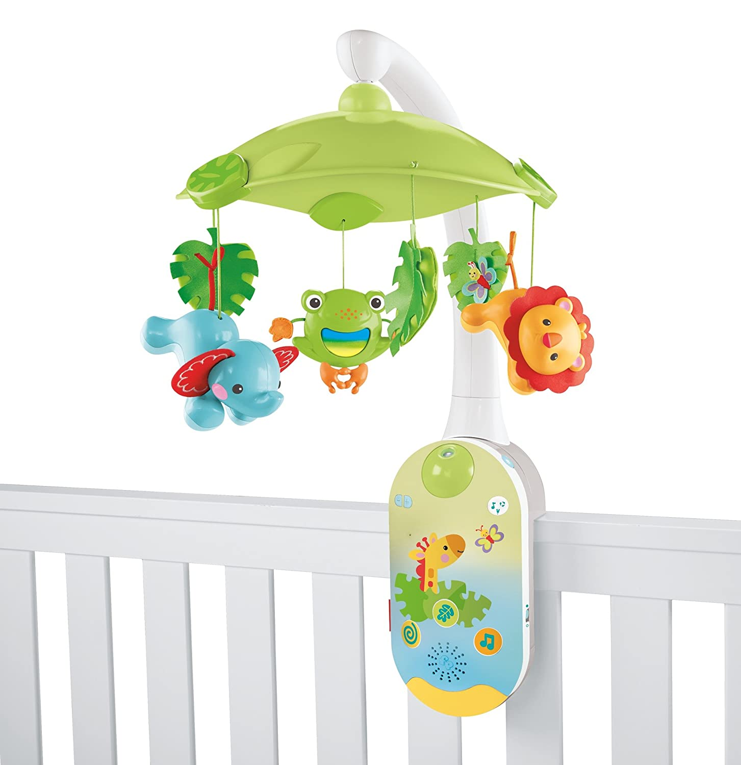 Amazon Fisher Price Smartconnect 2 In 1 Projection Mobile Baby