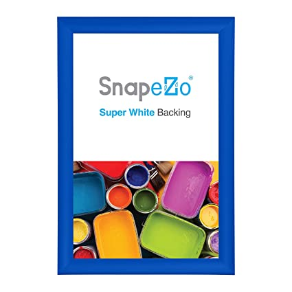 SnapeZo Blue Poster Frame A4 Size (8 3 x 11 7 inches), 1