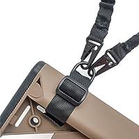 2 PCS Nylon Buttstock Sling Gunstock Attachment Correa