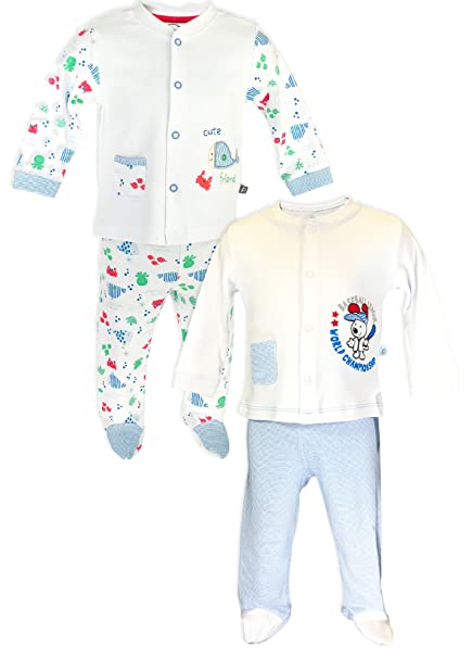 Premom Baby Boys 2 Set Pijamas