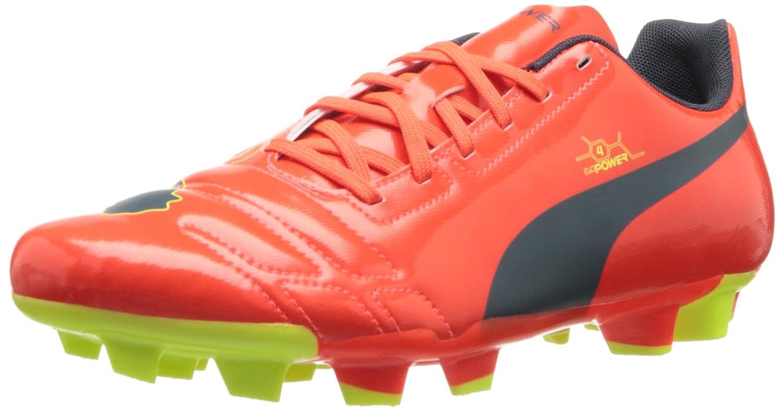 PUMA Men's evoPOWER 4 Firm-Ground Soccer Shoe