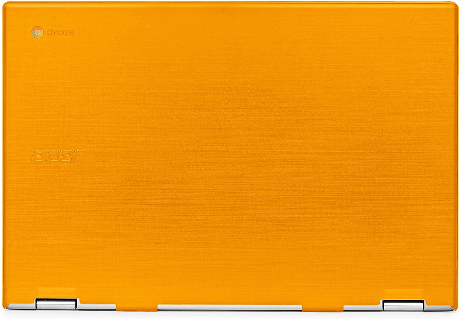 "mCover Hard Shell Case for 2019 15.6"" Acer Chromebook 15 CB315 Series (NOT Compatible with Older Acer chromebook C910 / CB5-971 / CB3-531 / CB515, etc) Laptop Computer (AC15-CB315-Orange)"