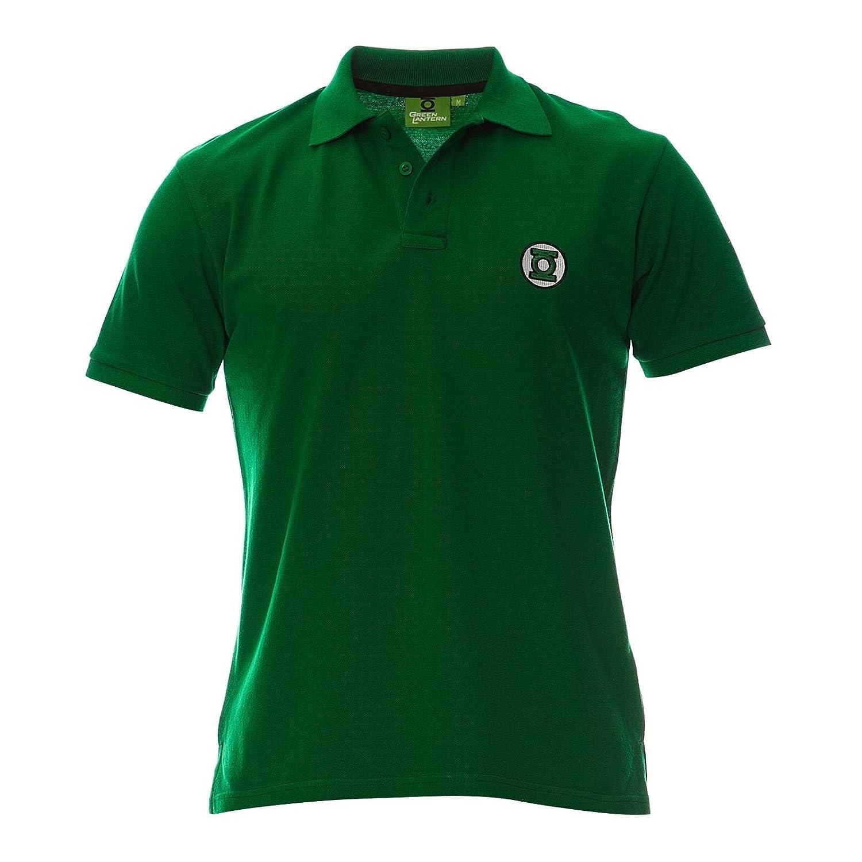 Polo Homme Green Lantern - Logo - Legend Icon - S, Vert: Amazon.es ...
