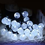 30 LEDs Solar Crystal Ball Lighting,YiMiky String