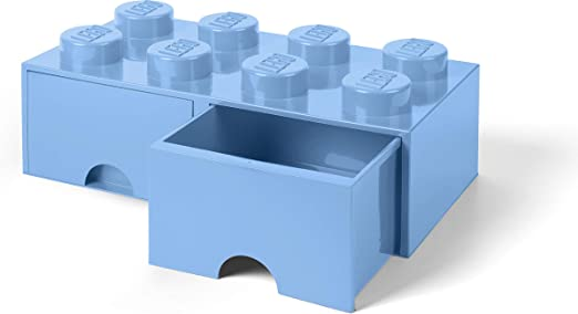 in Light Royal Blue Room Copenhagen Toy LEGO Classic Box With 8 Knobs