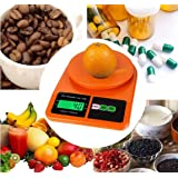Generic Digital Kitchen/Shop/Office Weight scales, Premium Model, Lab tested Acuracy, In orange Color (Premium 10 Kg scale) (Premium Kitchen Scale)