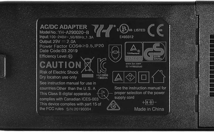 Sopito Sostituzione Seggiovia reclinabile AC//DC Alimentazione elettrica Trasformatore Batteria di riserva