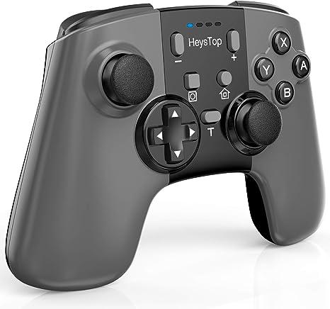 HEYSTOP Compatible Mando Nintendo Switch Inalámbrico Gamepad ...