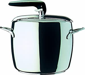 Mepra pressure-cookers, 7 Litre, Silver