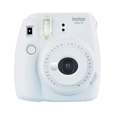 Fujifilm Instax Mini 9 - Cámara instantánea, Solo cámara, Blanco (Smoky White)