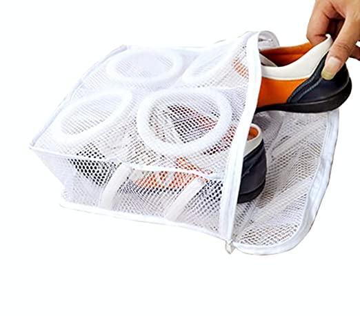 Metaltex 405399 Bolsa de Nylon para Lavar Zapatillas