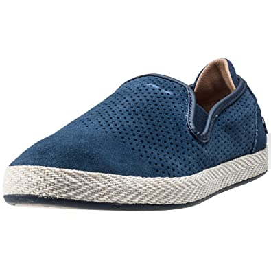 d0a83d3db2 Lacoste Tombre Slip-On Trainers Blue 9 UK: Amazon.co.uk: Shoes & Bags