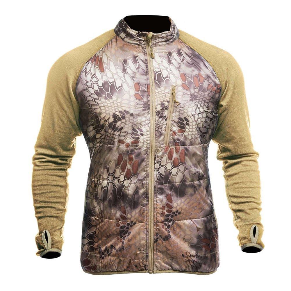 Kryptek Men's Borealis Insulated Baselayer Jacket Highlander Realm Brands 12A441-Parent