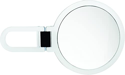 Danielle Creations Folding Handheld Mirror, 5X Magnification