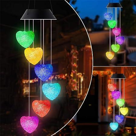Solar LED Plastic Bottle String Light Garden Hanging Valentine/'s Xmas Decor Lamp