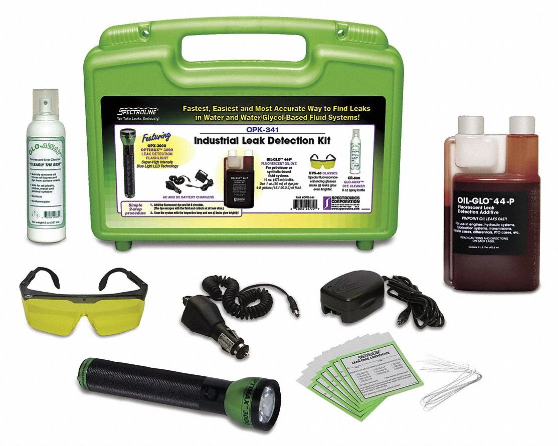 Hydraulic Leak Kit, Blue LED