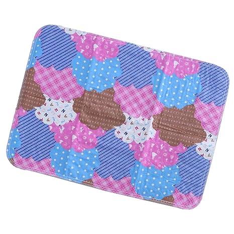 1 pc de Almohadilla para Sábana para Bebés Impermeable Protección ...
