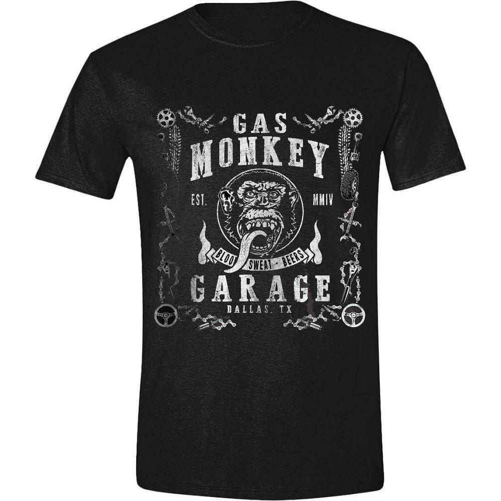 para Hombre Camiseta Gas Monkey Garage