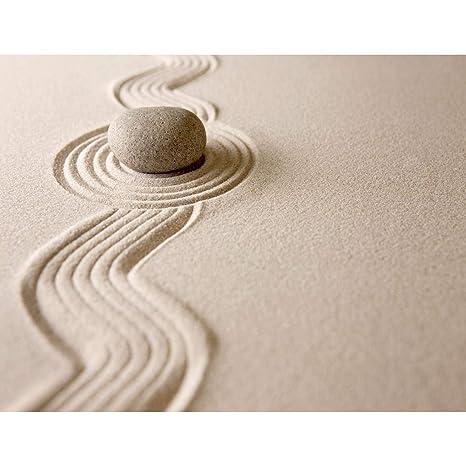 Fototapete Sand Garten 396 x 280 cm Vlies Wand Tapete Wohnzimmer  Schlafzimmer Büro Flur Dekoration Wandbilder XXL Moderne Wanddeko - 100%  MADE IN ...