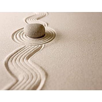Fototapeten Sand Garten 352 x 250 cm Vlies Wand Tapete Wohnzimmer ...