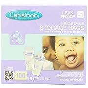 Lansinoh Breastmilk Storage Bags - 100 ct, Multi