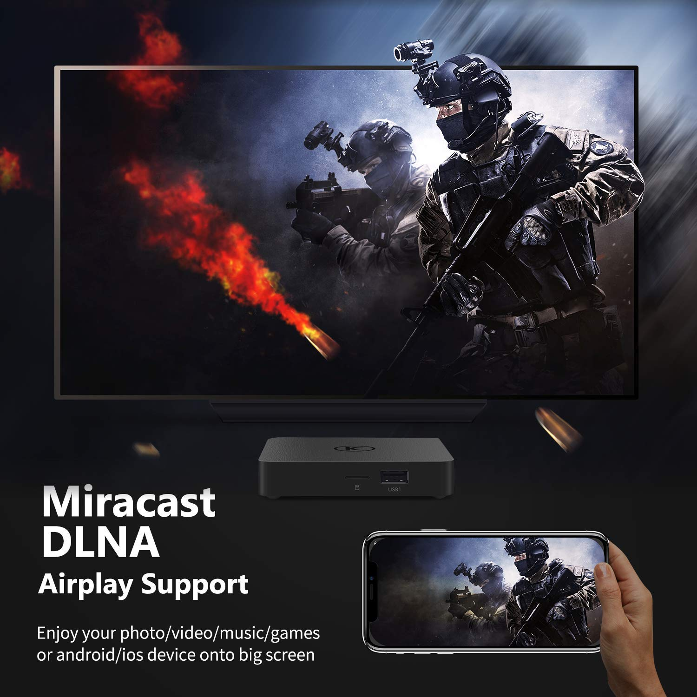 VANKYO MatrixBox X95A 4K Android TV Box, Ultra HD 2GB RAM 16GB ROM TV Streaming Player w/ Amlogic S905W 64 Bits Quad Core Processor  by vankyo (Image #10)