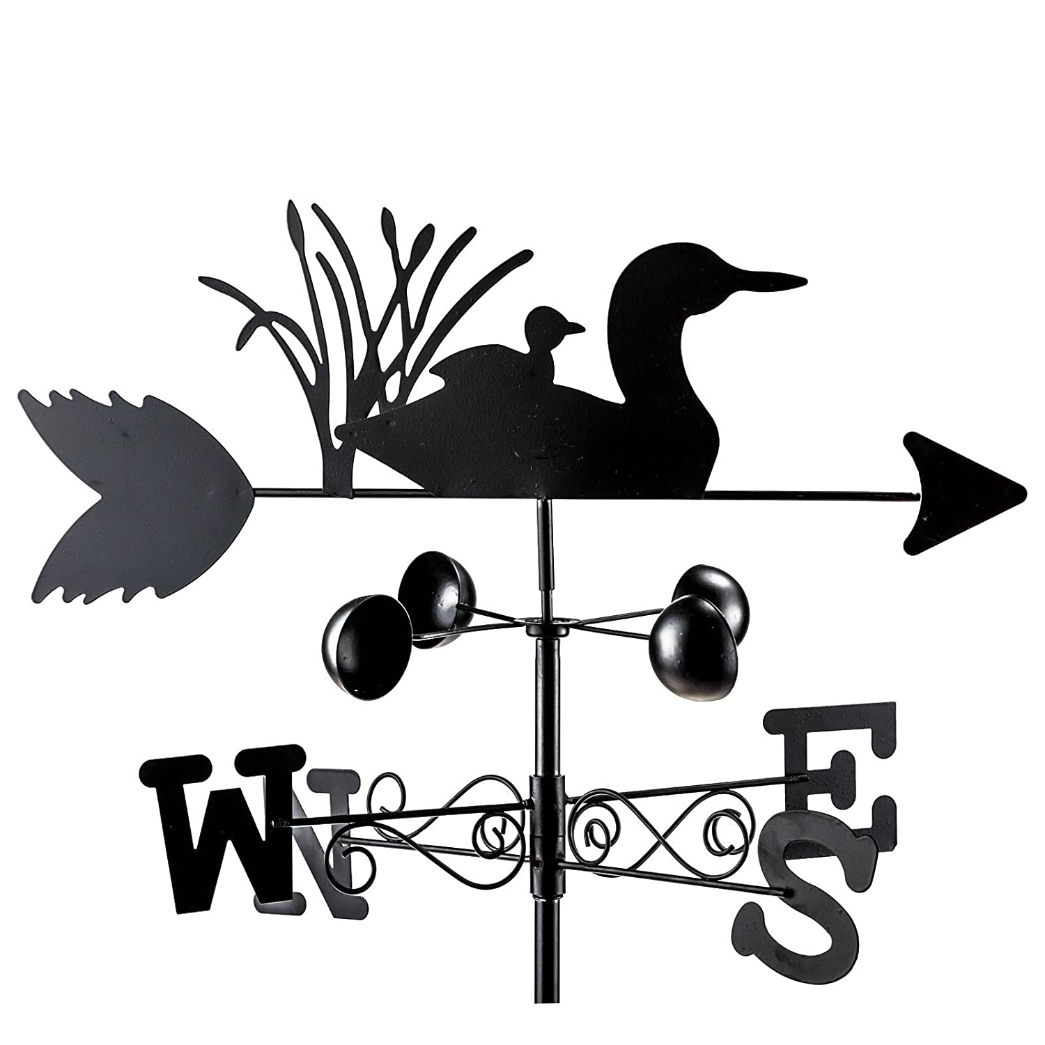 PMS GARDEN ANIMAL WEATHERVANES IN COLOUR BOX 4ASSTD Roots & Shoots