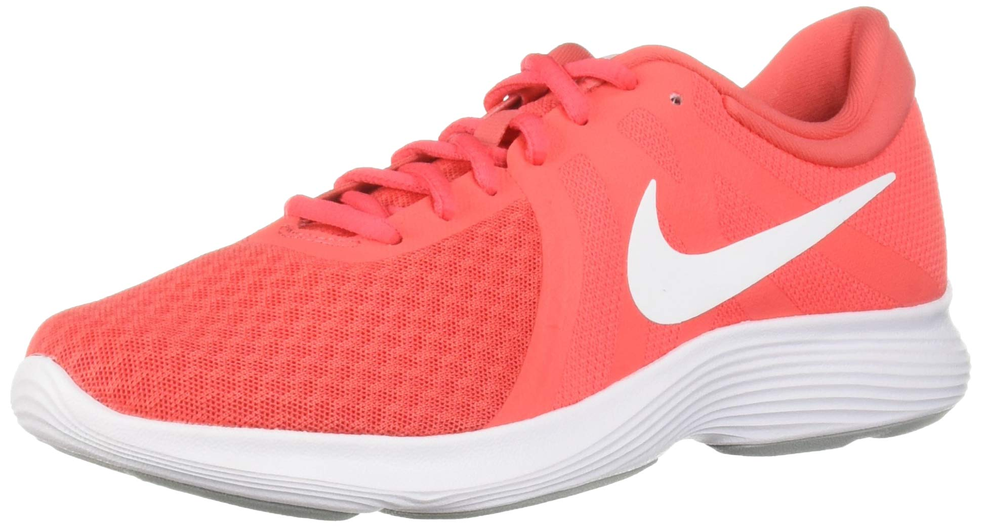 Nike Women's Revolution 4 Running Shoe, Ember Glow/White - Pink Glaze, 5 Regular US