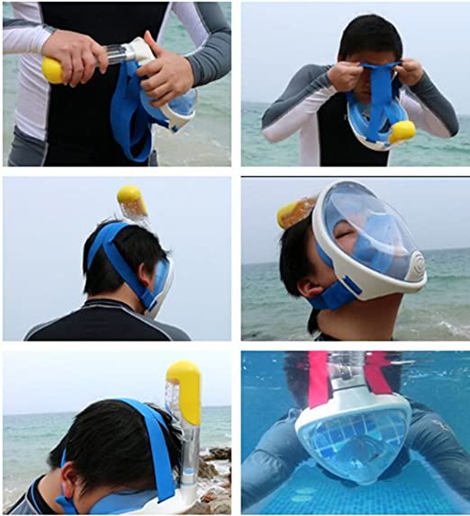 Thenice Superficie Snorkel Scuba Set Deportes Snorkeling ...