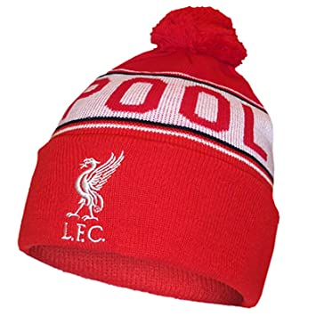 35a3a8ea339 Image Unavailable. Image not available for. Colour  Official LIVERPOOL FC  red and white bobble hat