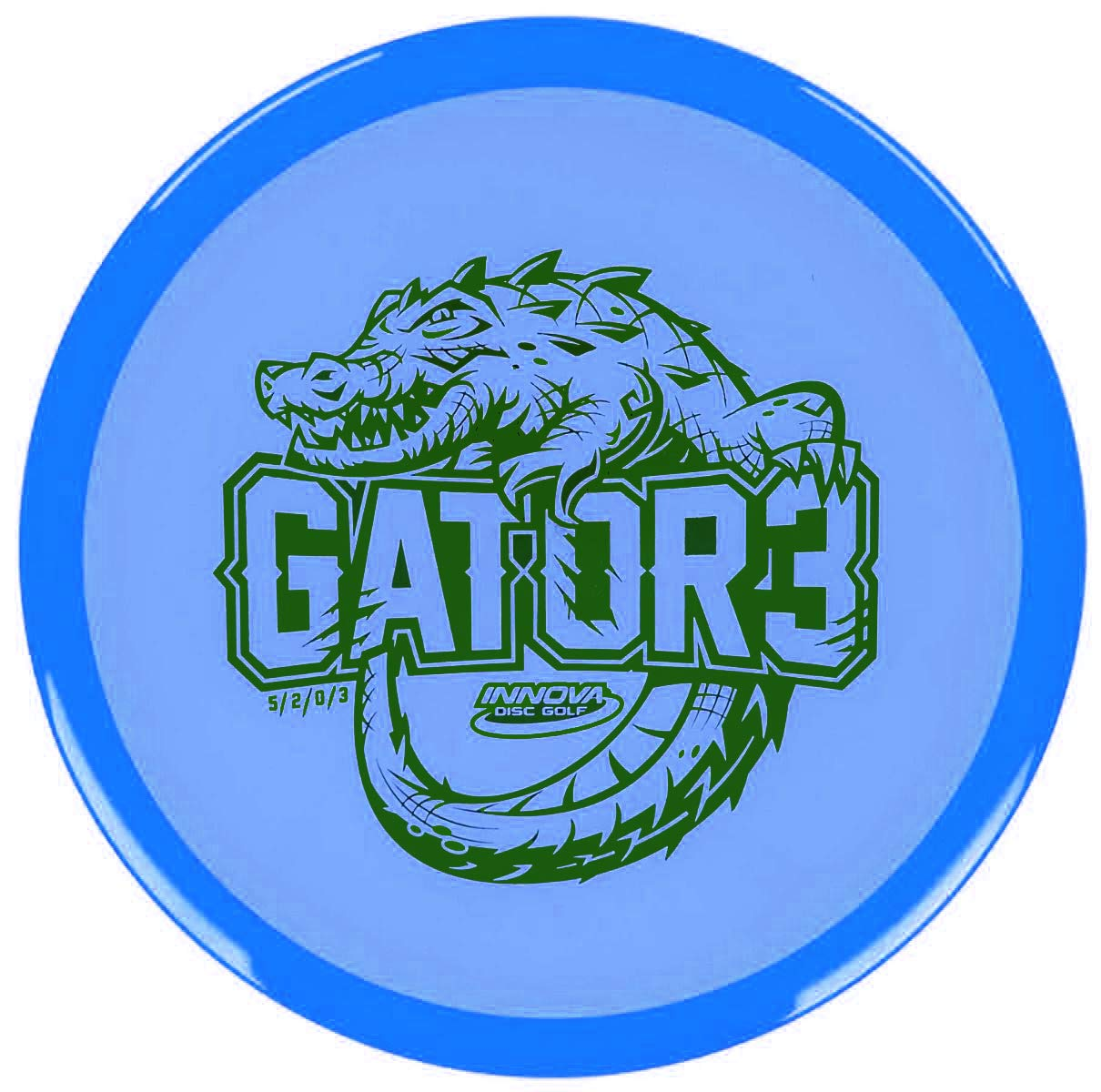 Innova Limited Edition Champion Gator 3 Mid-Range Disc Golf 173-175g (Colors Will Vary) by Innova Discs