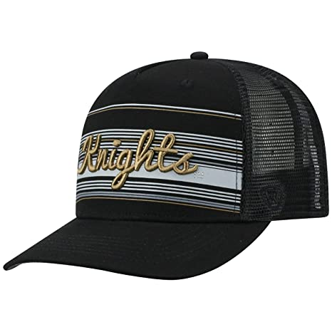 490f2b8e70b61 ... greece top of the world ucf knights tow black 2iron structured mesh  adj. hat cap ...