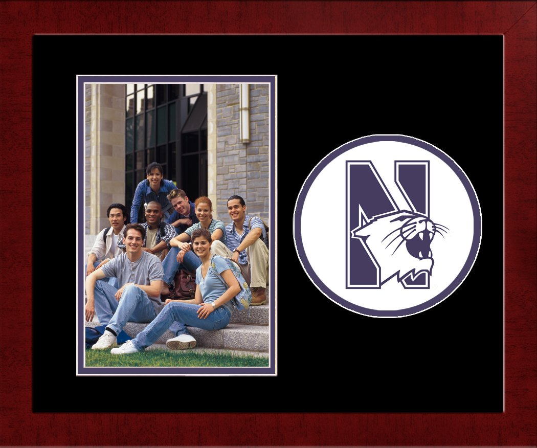 Campus Images NCAA Northwestern Wildcats University Spirit Photo Frame Vertical