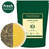 Green Tea Leaves from Himalayas (50 Cups), 100% Natural Detox Tea, Weight Loss Tea, Cleansing Tea & Slimming Tea, Powerful Anti-Oxidants, Fresh Harvest, Green Tea Loose Leaf, 3.53oz