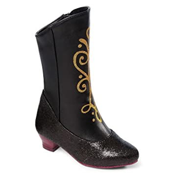 Amazon.com: Disney Store Anna Boots for Girls Frozen Size 7-8 ...