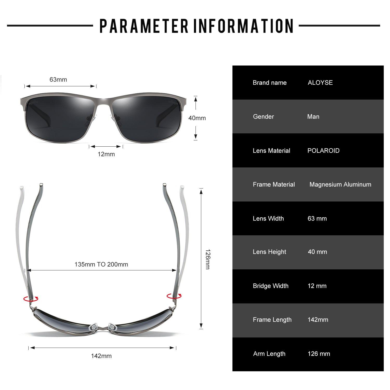 af50efa007 Aloyse Men Sunglasses Polarized Women - TiendaMIA.com