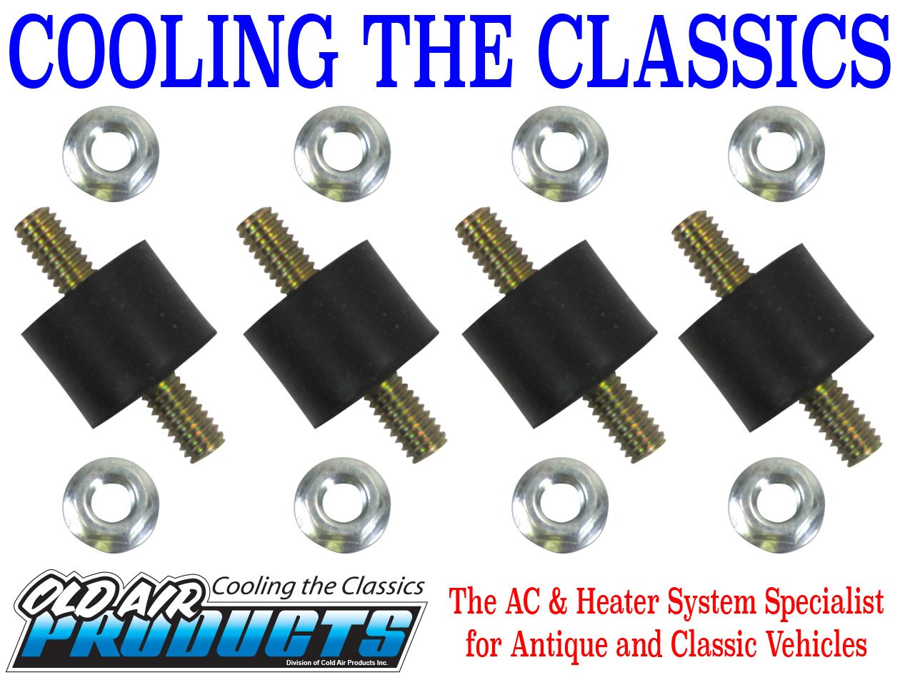 Mounting Insulator, Set of 4#60-0020-4 Old Air Products