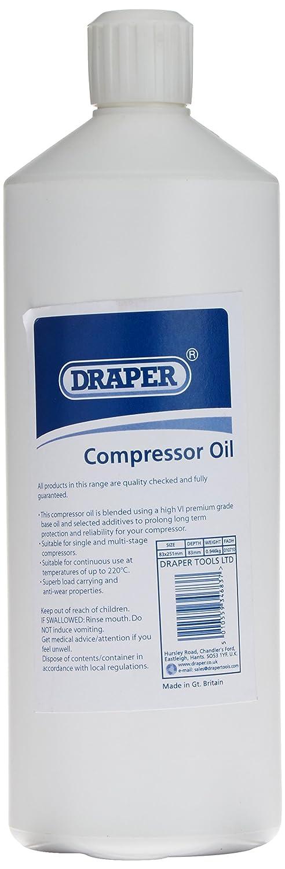 Draper 34683 - Aceite para compresor (1 L): Amazon.es: Bricolaje y herramientas