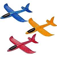 Comius Sharp Planos de Espuma, 3 Pcs Avión Planeador, Modelo de Avion Deportes al Aire Libre Volar Juguete, Que lanzan…