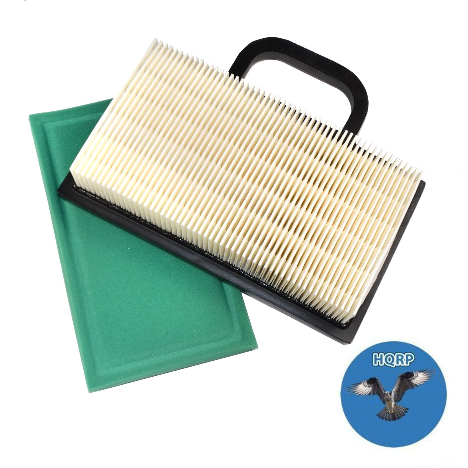 HQRP Air Filter Cartridge w/Pre-Cleaner for Craftsman GT5000 GT3000 DYS4500 YS4500 Garden Tractors, 33926 Replacement Coaster