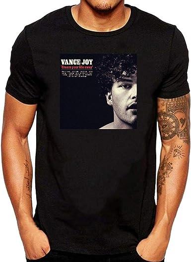 ZOMMING tee Vance Joy Dream Your Life Away Hombre Camiseta Negro/Hombre T Shirts Negro: Amazon.es: Ropa y accesorios