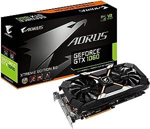 Gigabyte AORUS Xtreme GeForce GTX 1060 6G REV 2.0 Computer Graphics Card - GV-N1060AORUS X-6GD REV2.0