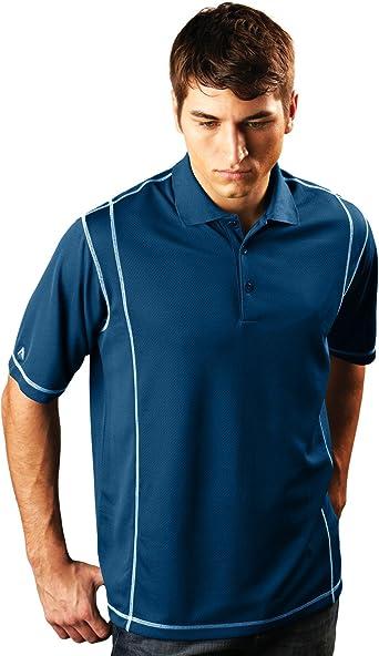 Antigua - Camisa Casual - para Hombre Multicolor Azul Marino/Blanco Small: Amazon.es: Ropa y accesorios